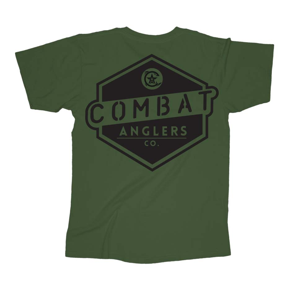 Badge Army Green Back
