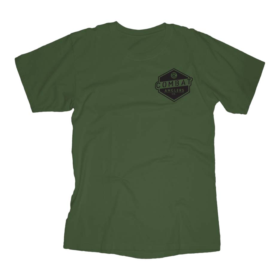Badge Army Green Front
